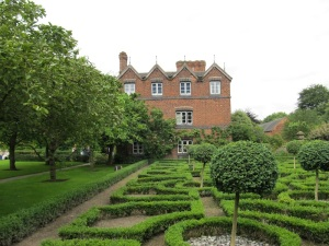 The House from the Knot Garden